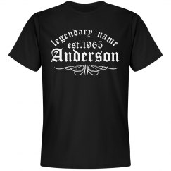Anderson. Legendary name
