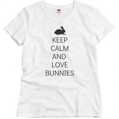 Keep calm love Bunnies