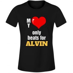 Heart beats for Alvin