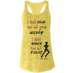 Run and not grow weary