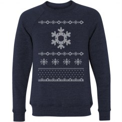 Snowflake Ugly Sweater