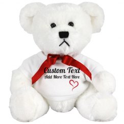 Cute Custom Teddy Bear Gift