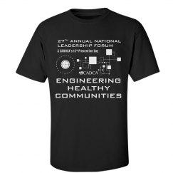 2017 Forum Men's T-shirt - Black