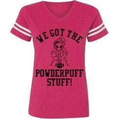 Powderpuff Football Girl