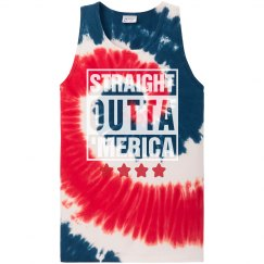 Straight Outta Red White & Blue