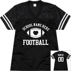 Design Best Selling Custom Football Mom Jerseys