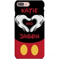 Heart Hands iPhone Case
