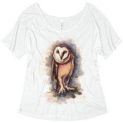 owl fashion tee