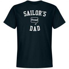 Proud sailor's dad
