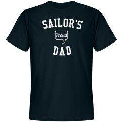 Proud sailor's dad