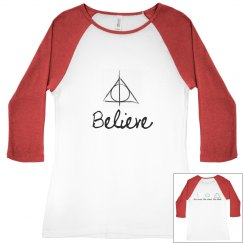 """Believe"" Hallows Tee"