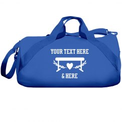 Custom Text Gymnastics Team Gear