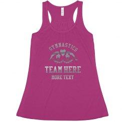 Gymnastics Team Custom Metallic