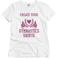 Custom Gymnastics Team Shirts