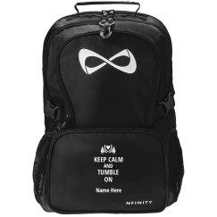 Keep Calm Gymnastics Workout Bag