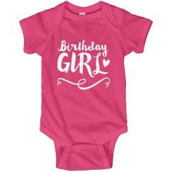 1st Custom Birthday Girl