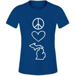 Peace Love & Michigan