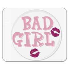 BAD GIRL MOUSEPAD