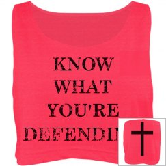 What You're Defending