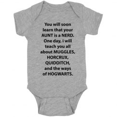Your Aunt Is A Nerd For Hogwarts