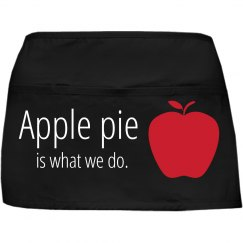 Apple pie apron