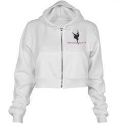 PSB cropped hoodie