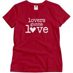 Red Lovers Gunna Love Tee
