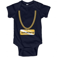 BLM Baby Chain Onesie