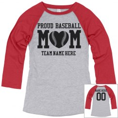 Proud Baseball Mom Jersey