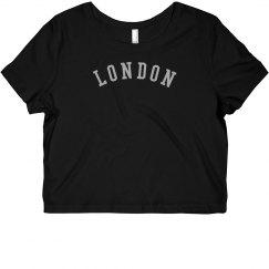 LONDON Rhinestones Top