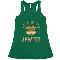 St Patrick's Kiss Me I'm Jewish
