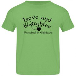 Green toddler tshirt