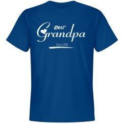Best Grandpa since shirt