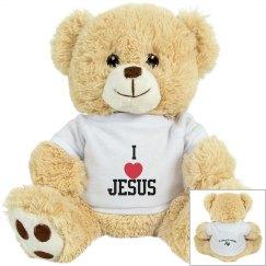 I love jesus bear
