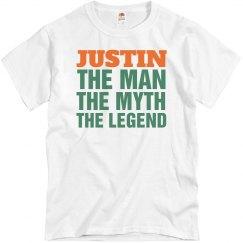 Justin the man