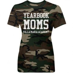 Camo Yearbook Mom Tee