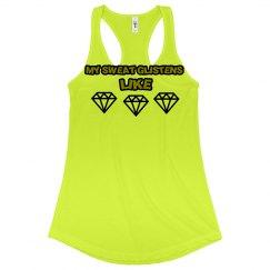 Diamonds Workout Tee