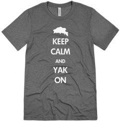 Keep Calm Yak On