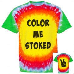 Color Me Stoked Tee