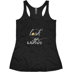 Look Within Tank Black