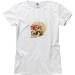 Glowing eyes Zombie Skull TShirt