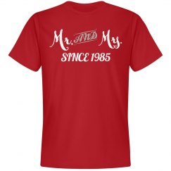 Mr & Mrs since 1985