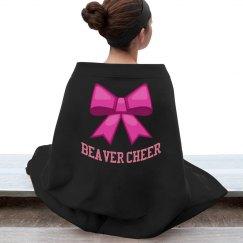 Beaver Cheer Blanket