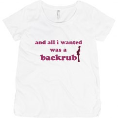 Just A Backrub