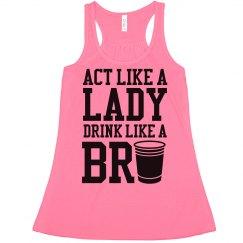 Drink Like A Bro