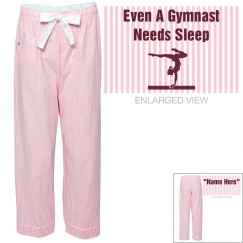 Gymnasts needs sleep