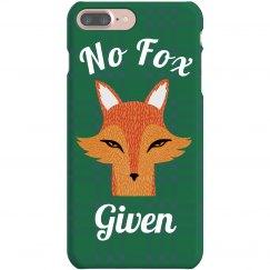 No Fox Given Phone Case