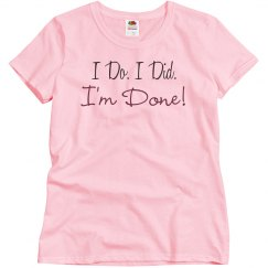 I'm Done! Divorce Party