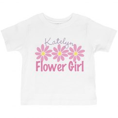 Flower Girl Pink Daisies