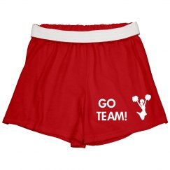 Go Team Cheer Shorts
